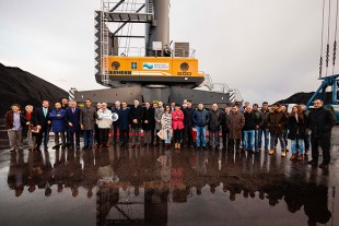 100th Liebherr Mobile Harbour Crane in Spain
