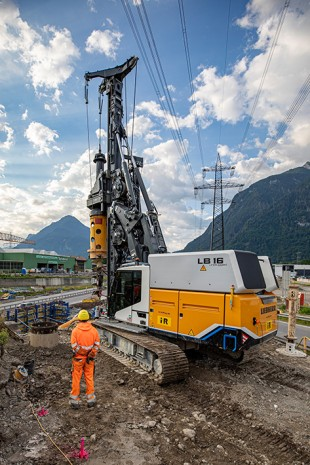 When deep foundation work goes electric: First application of global innovation